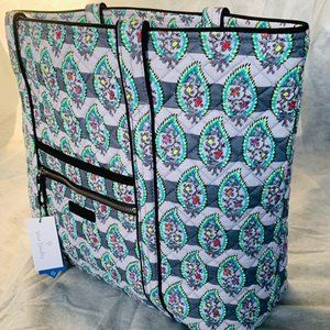 NWT Iconic VERA Tote in Paisley Stripes Retired